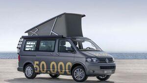 Jubiläumsfahrzeug VW California 50.000