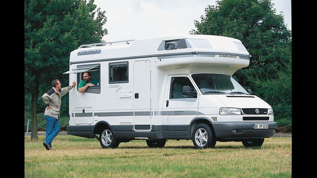 Karmann Edition mit silberfarbenem Dekor und mehr Ausstattung