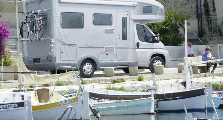 Karmann Ontario 600 2010 Seitenansicht