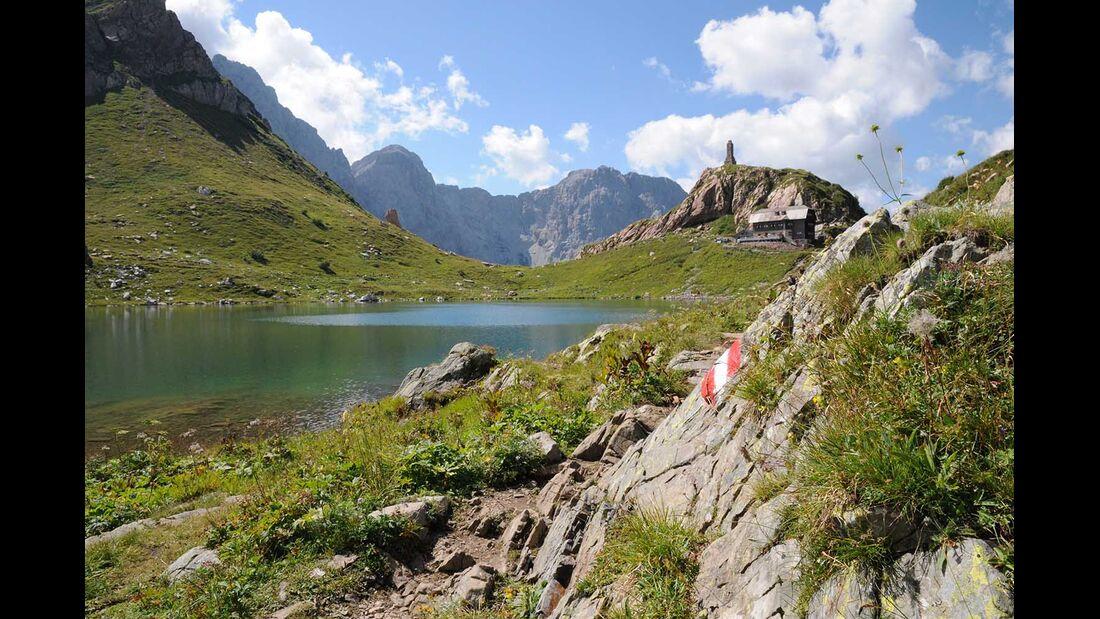 Karnischen Höhenweg - Wolayersee