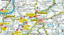 Karte Bad Blankenburg