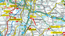 Karte Bad Schoenborn