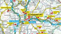 Karte, Schweinfurt