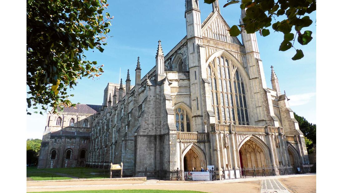 Kathedrale in Winchester