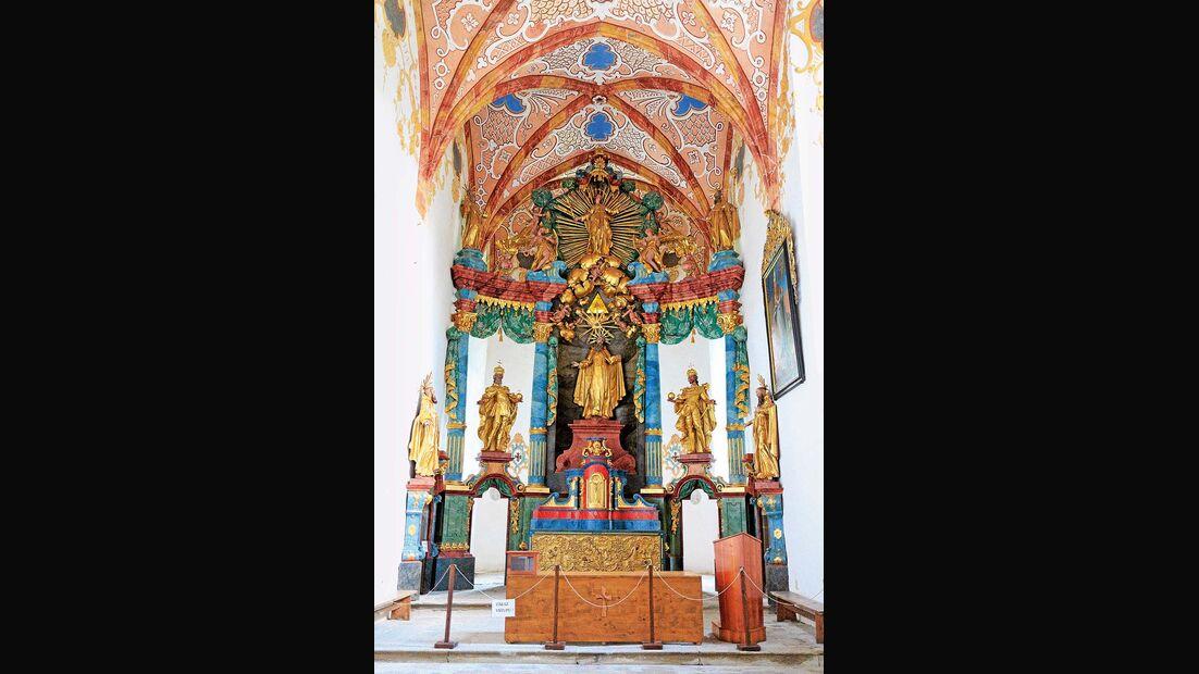 Kirche im Roten Kloster in Sromowce Nižne.