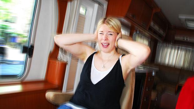 Klappergeräusche im Wohnmobil sind extrem nervtötend.