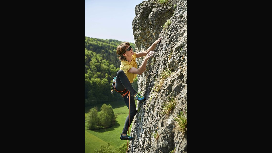 Klettern Fränkische Schweiz