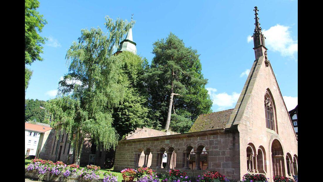 Klosterviertel Gartenschau Bad Herrenalb 2017
