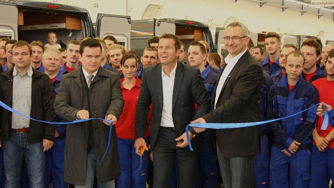 Knaus Tabbert fährt die Kastenwagenproduktion hoch und baut die Kapazität im ungarischen Werk auf mindestens 2.500 Einheiten aus.