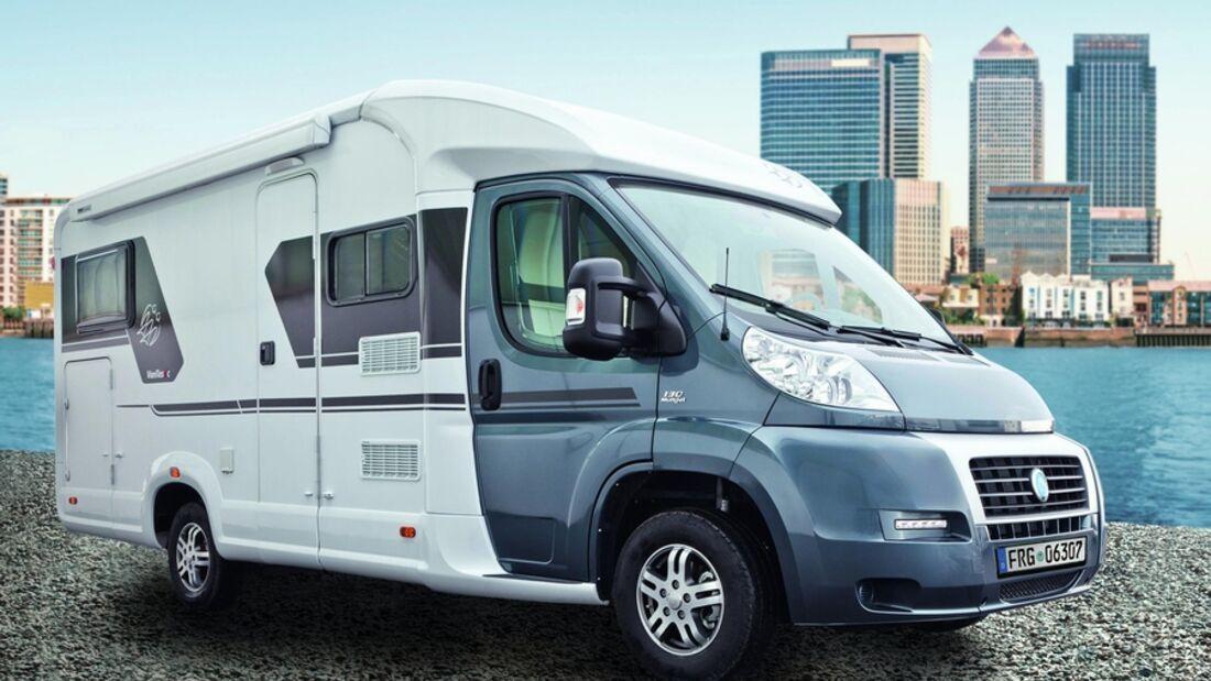 Knaus Tabbert hat das Rekordergebnis von 2011 nochmals verbessert und deutlich mehr Reisemobile verkauft