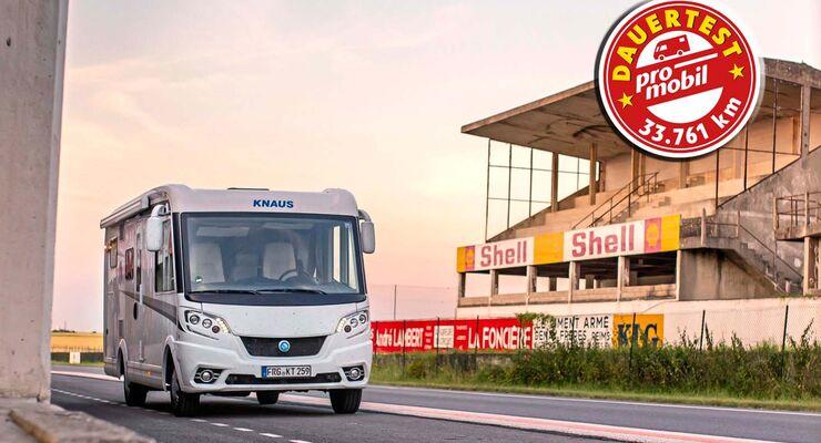 Knaus Van I 600 MG Dauertest