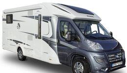 """Knaus stellt mit den Sondermodellen """"Celebration 25 Years"""" zwei Sun TI-Reisemobile auf der CMT aus."""