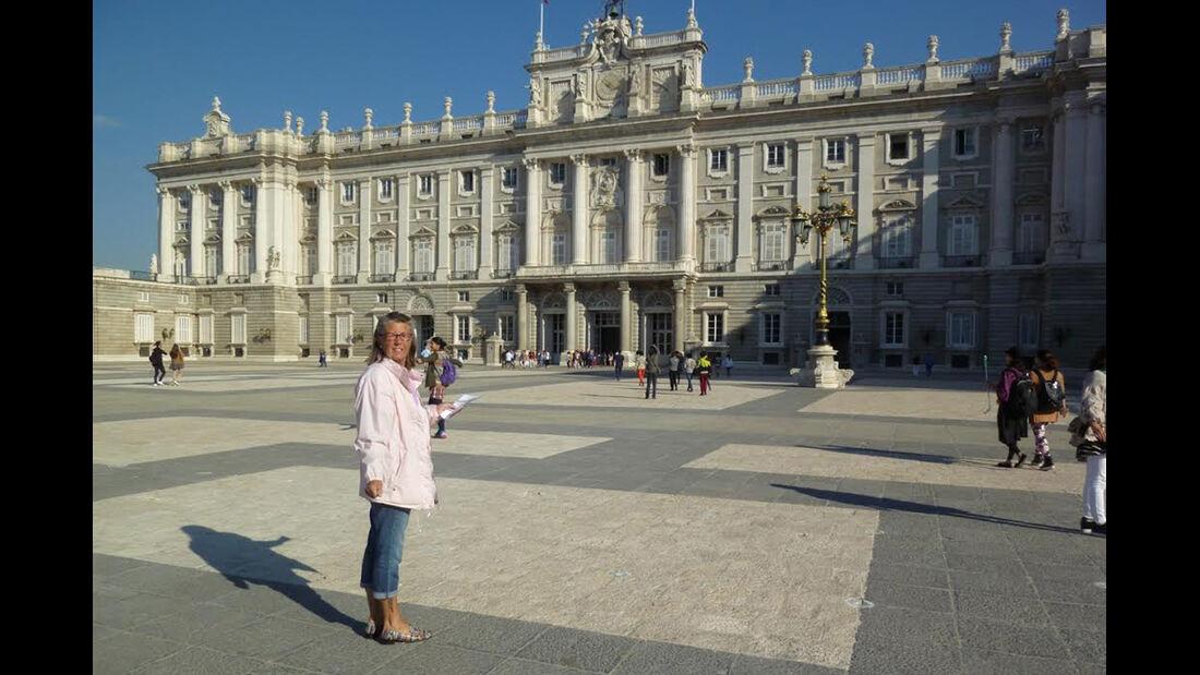 Koenigspalast in Madrid