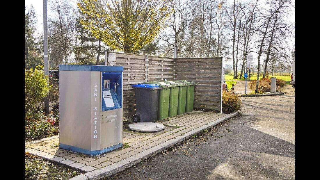 Komfortplatz am Kurpark Bad Buchau