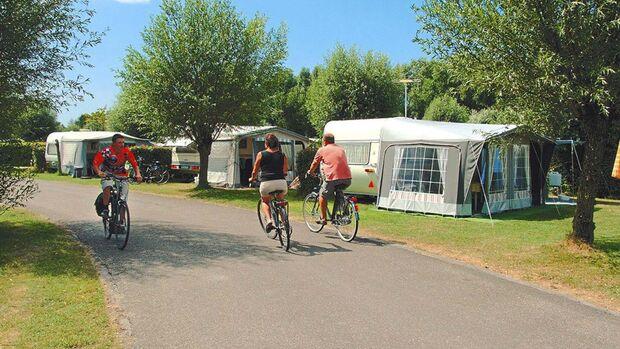 Kompas Camping Westende: viel Platz für einen aktiven Urlaub.