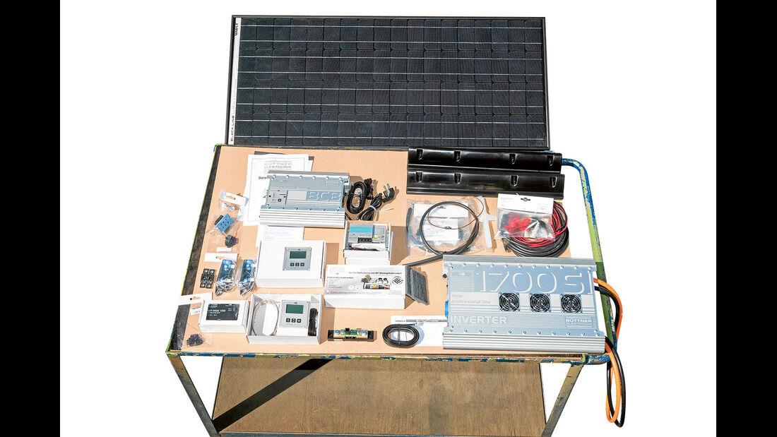 Komplettpaket Solaranlage