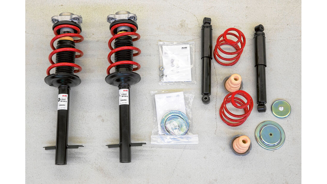 Komponenten des Alko-Systems
