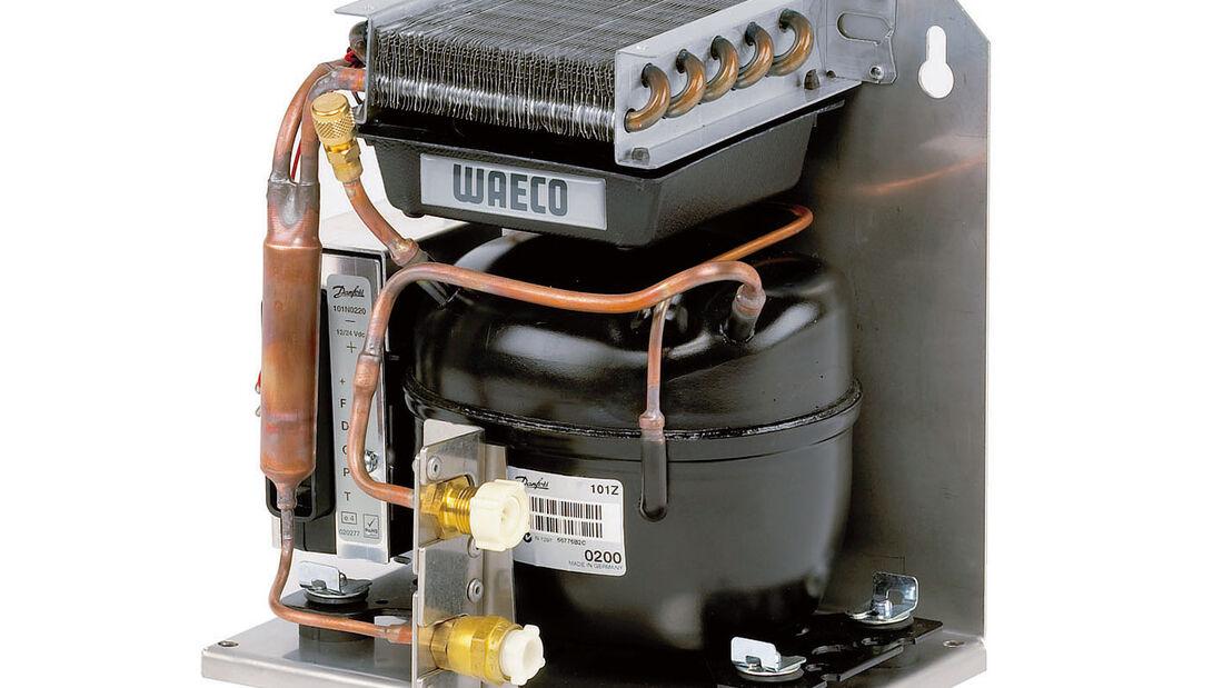 Kompressor im Wohnmobil