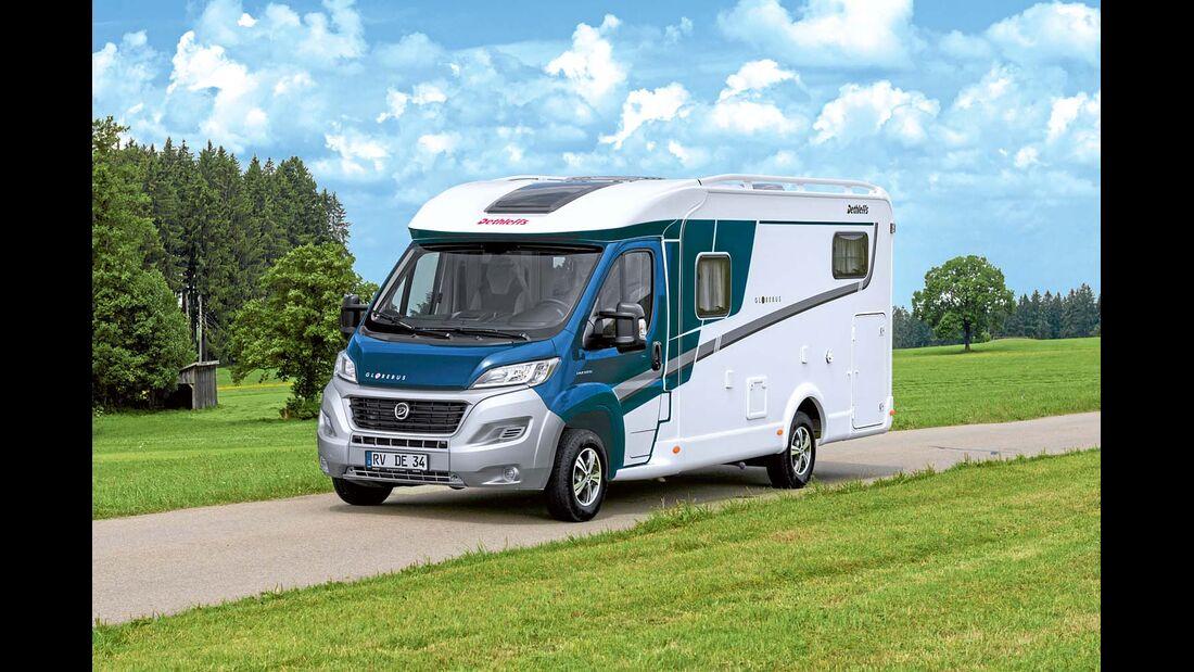 Konkurrent Dethleffs Globebus Active T4