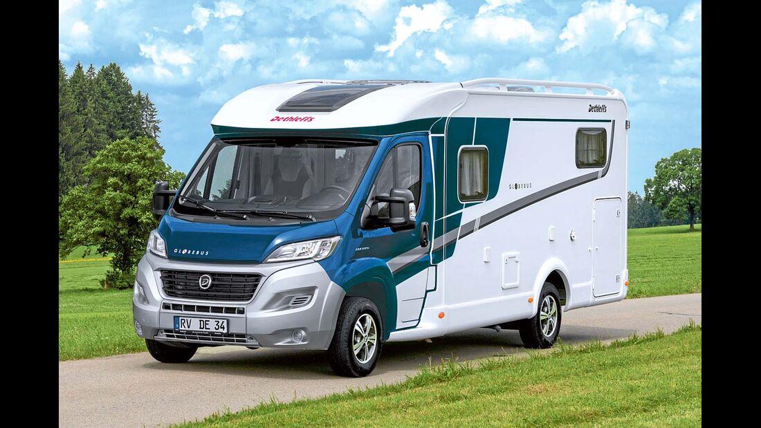Konkurrent Dethleffs Globebus T4 Active