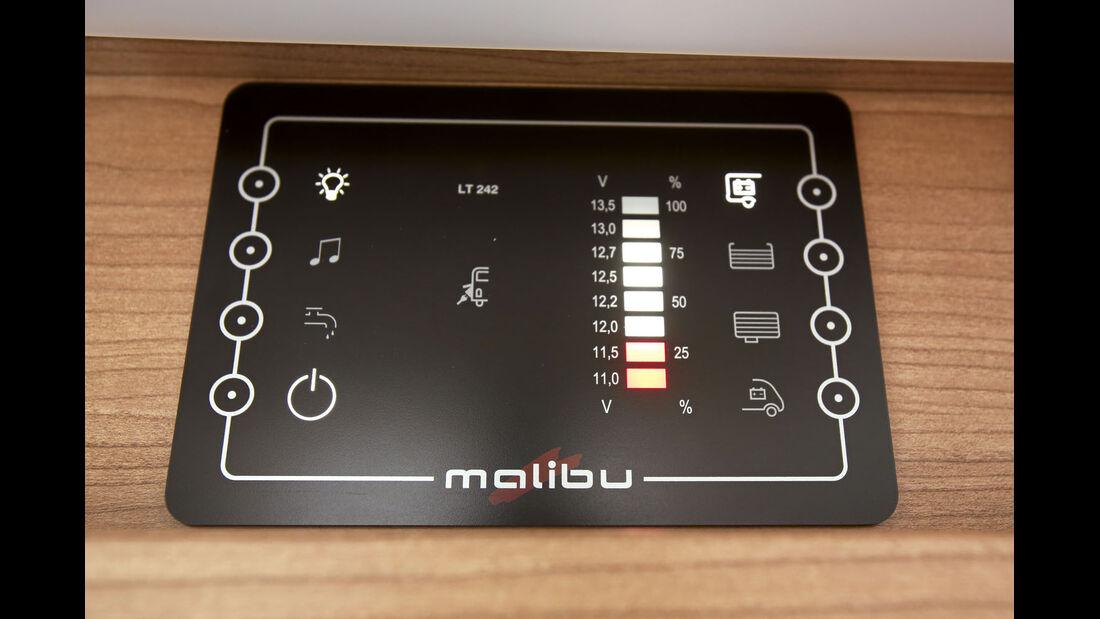 Kontrollbord beim Malibu T 460