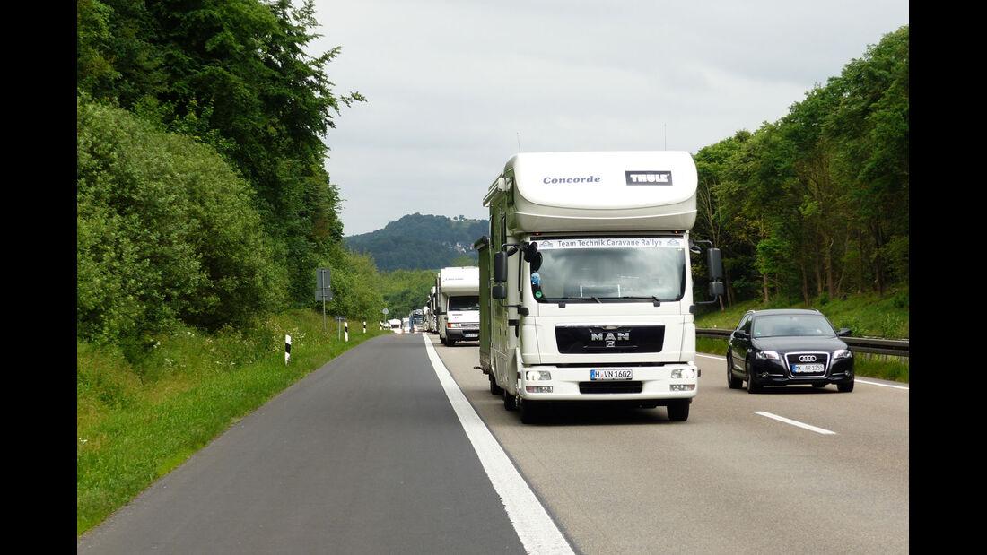 Konvoi Autobahn