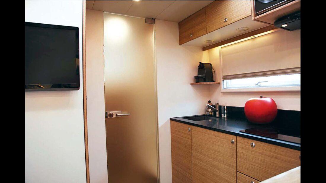 Küche im Bliss-Mobil 20-ft-body