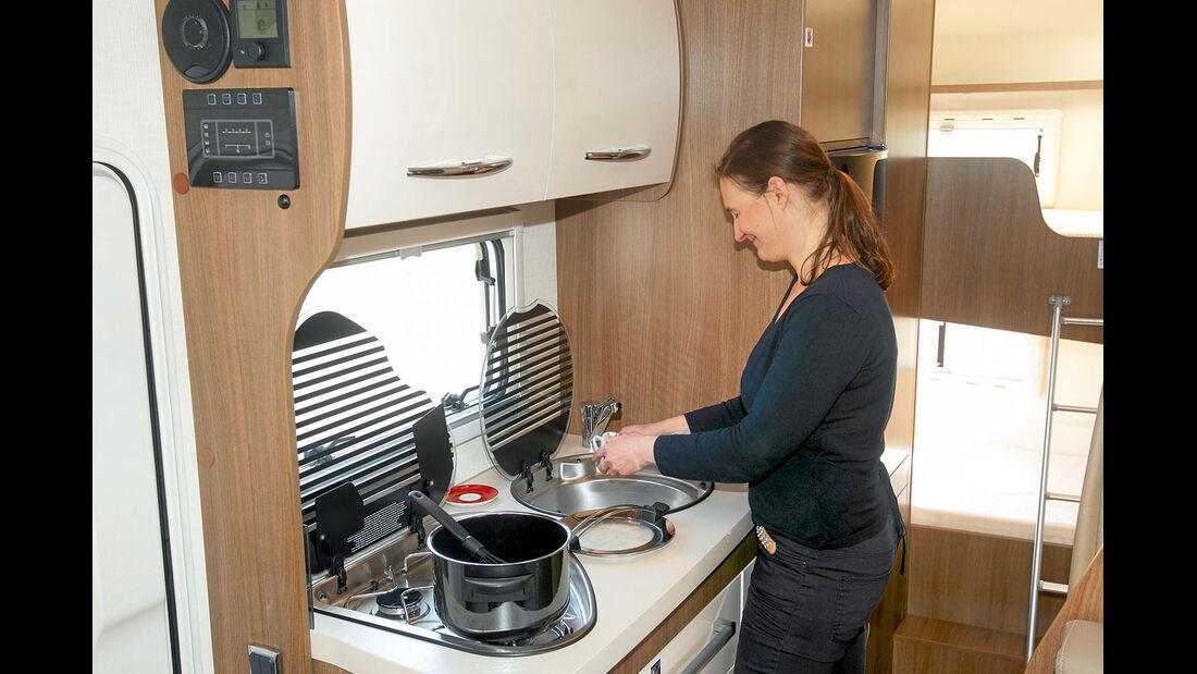 Küche im Challenger