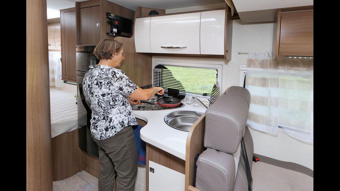 Küche im Chausson