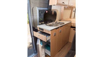 Küche im Roadcar 600