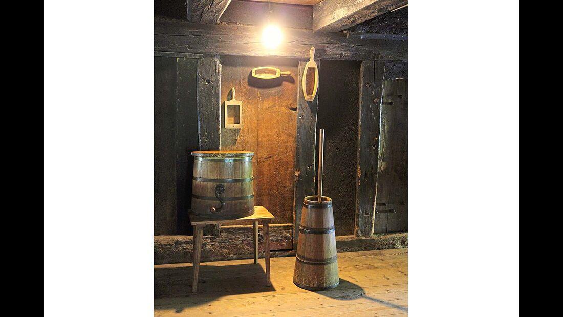 Küchengeräte im Freilichtmuseum Vogtsbauernhof