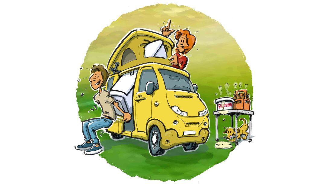 Kühlschrank Campingbus
