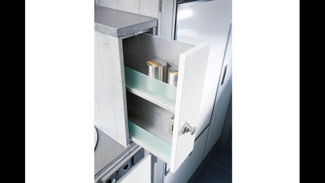 Kühlschrank im La Strada Avanti