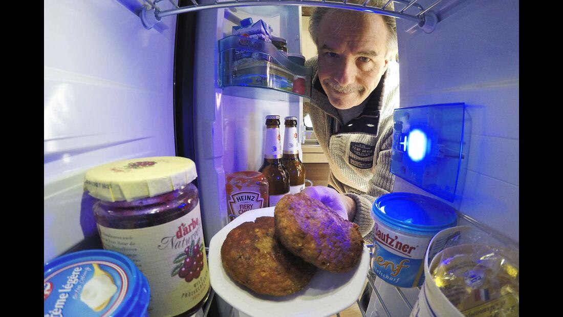 Kühlschrank von innen
