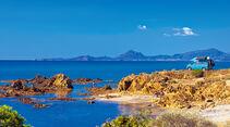 Küste in Sardinien