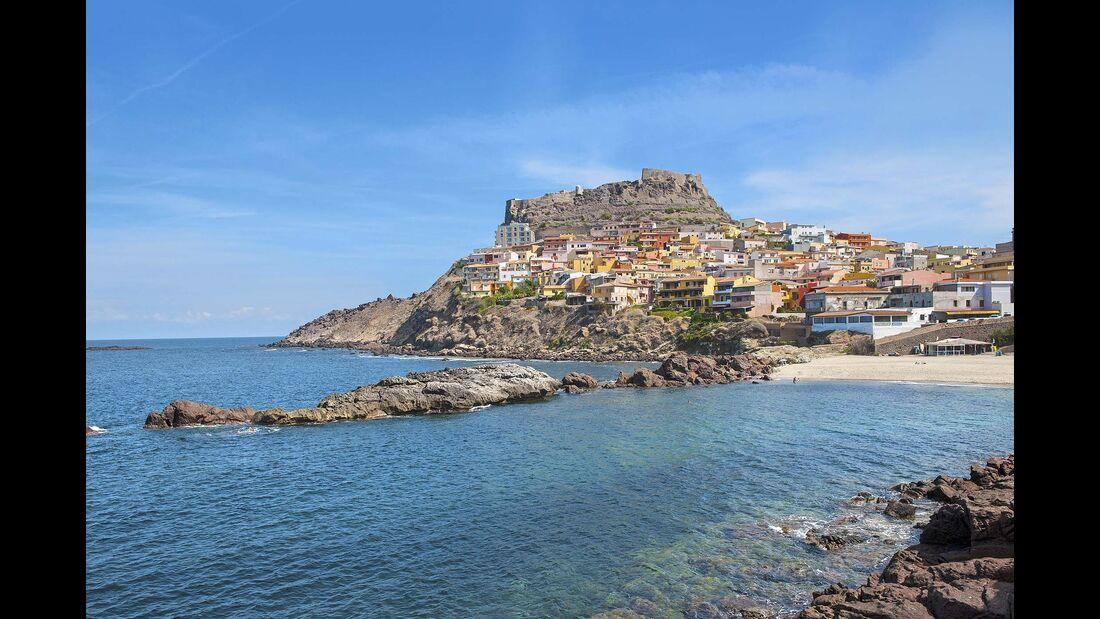 Küstenstädtchen Castelsardo