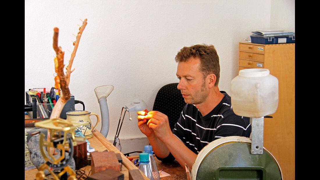 Kunsthandwerker Ingo Alexander in Sassnitz