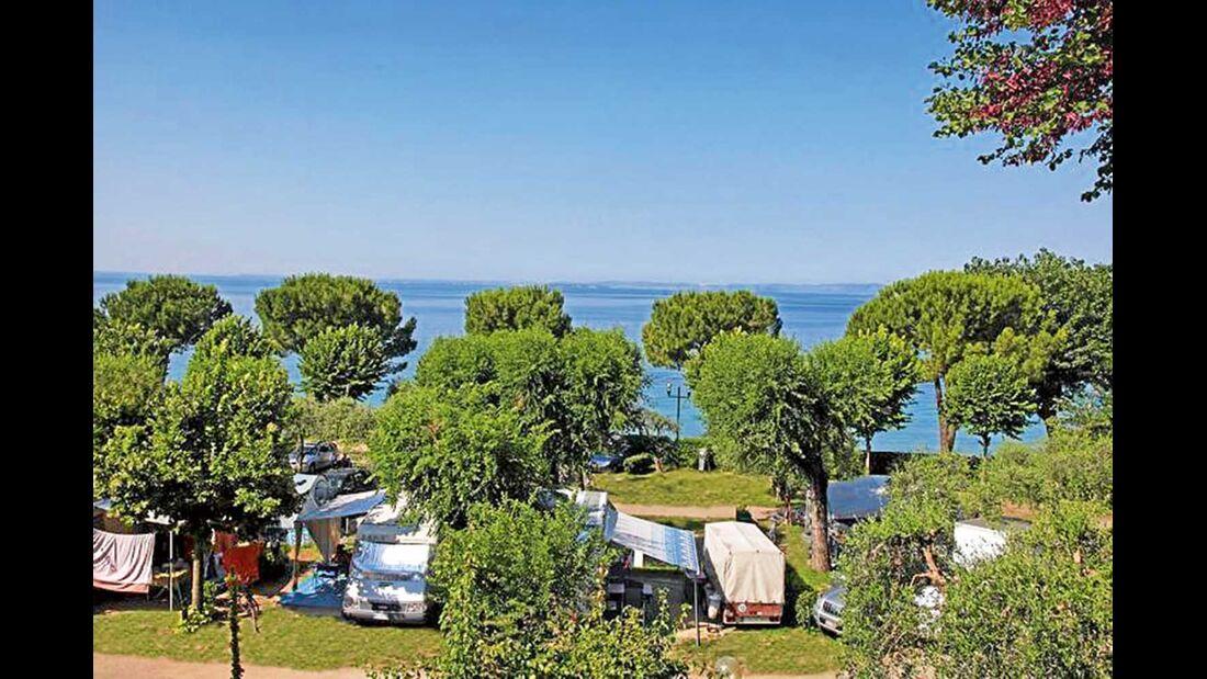 La Rocca Camp in Bardolino