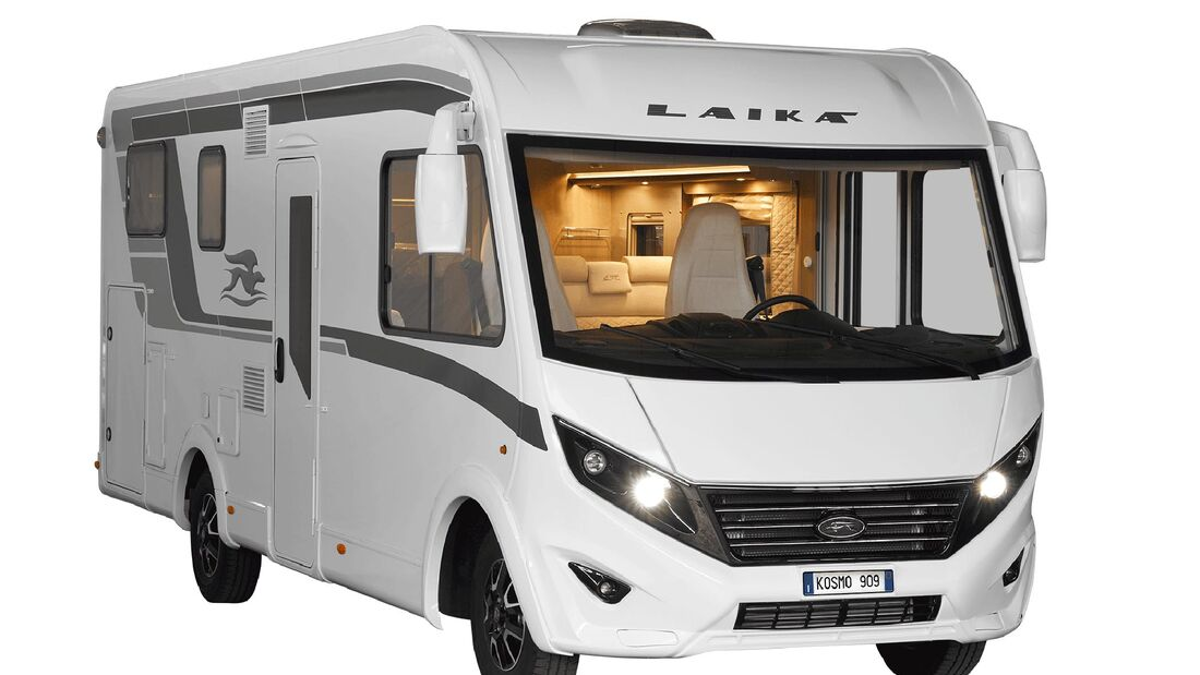 Laika Kosmo (2020): Wohnmobile und Campingbusse - Promobil