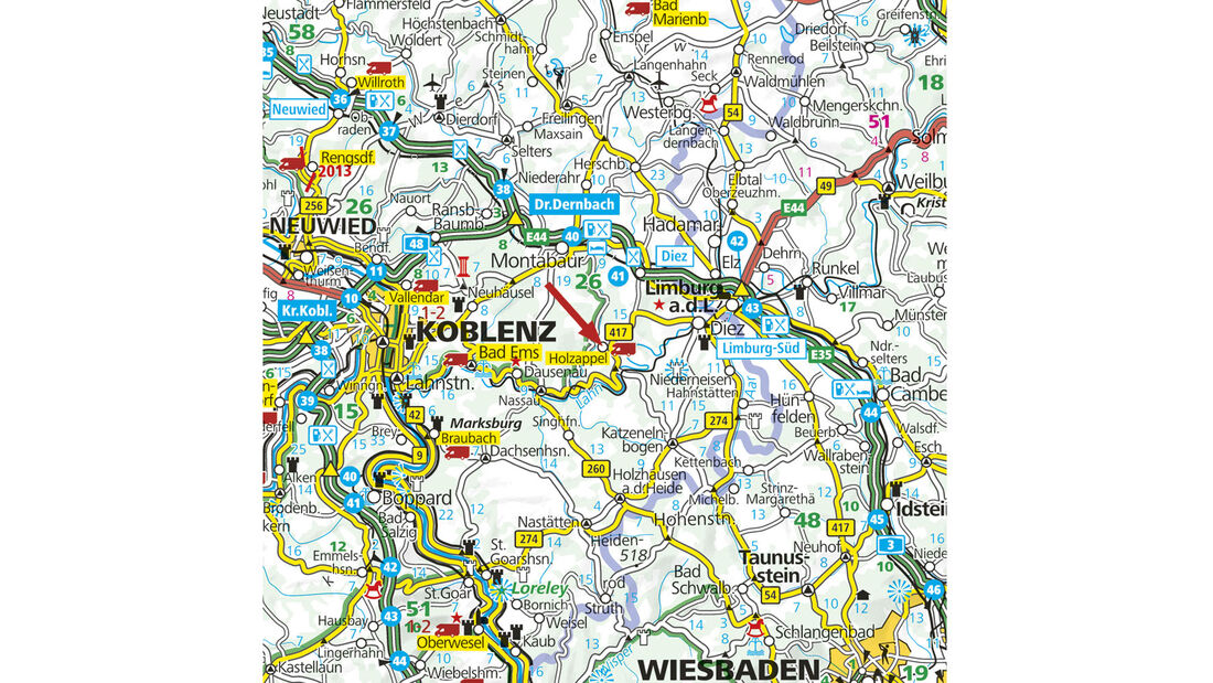 Landkart