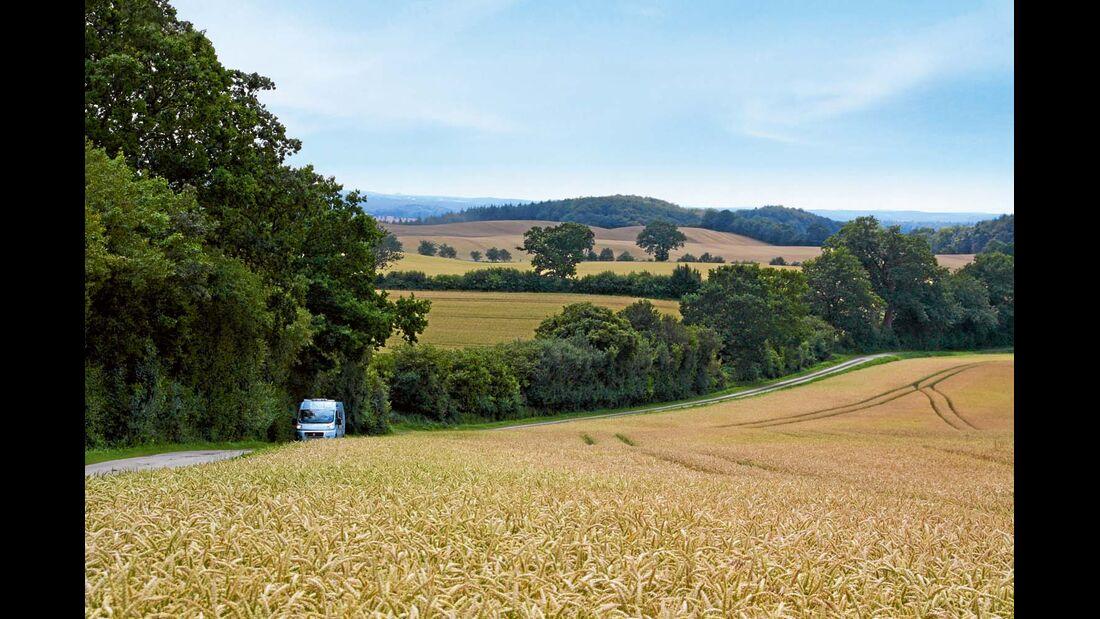 Landschaft in der Holsteinischen Schweiz