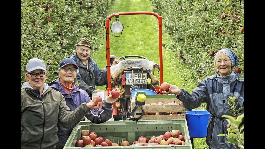 Landvergnügen Bauern