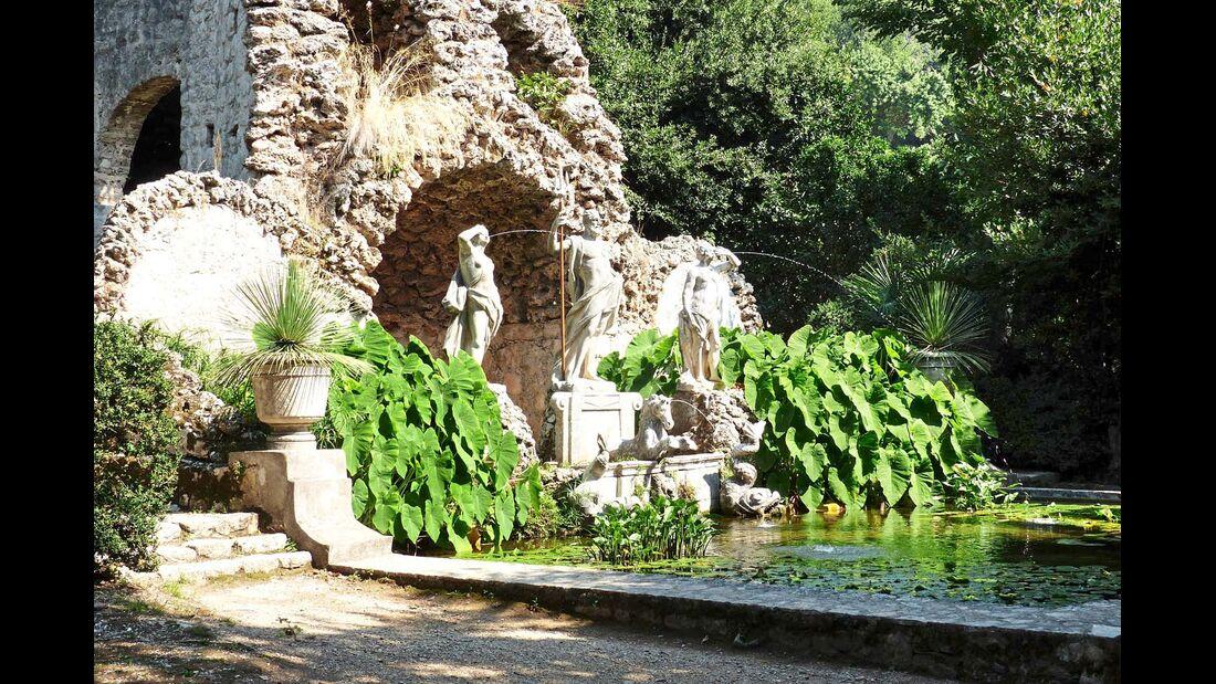 Lauschiger Springbrunnen