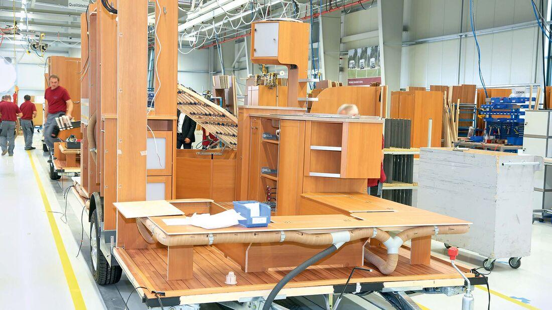Leichtbau in Wohnmobilen