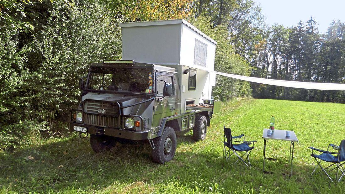 Leser-Mobil Pinzgauer