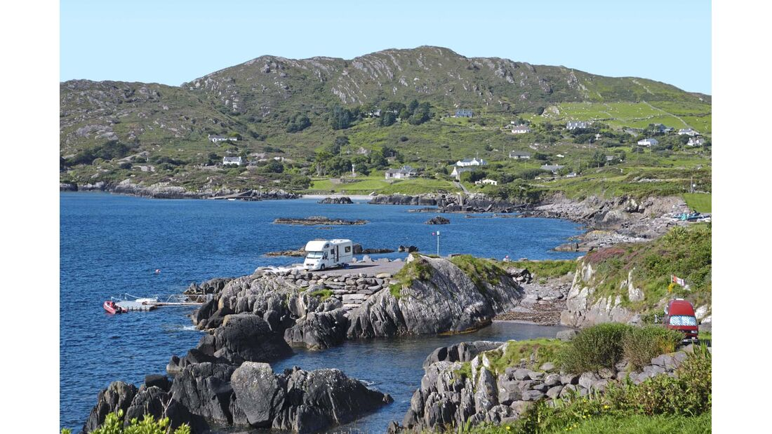 Leser auf Tour Irland