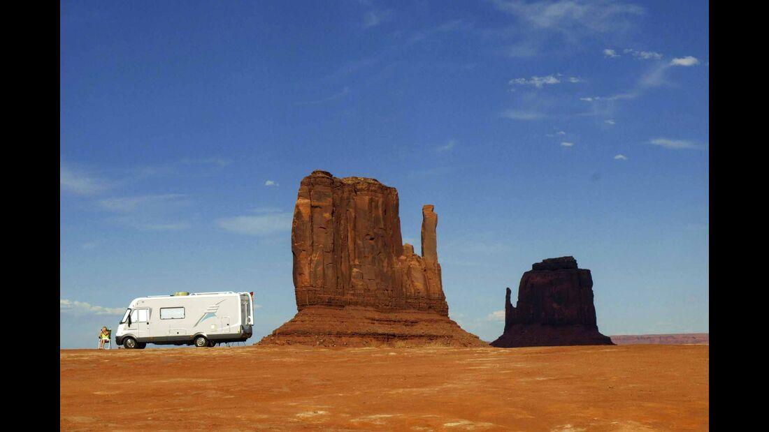 Leser auf Tour - USA Monument Valley