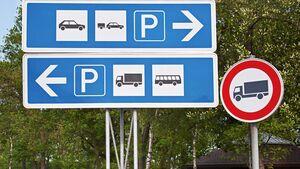 Leserfrage Parken an der Autobahn