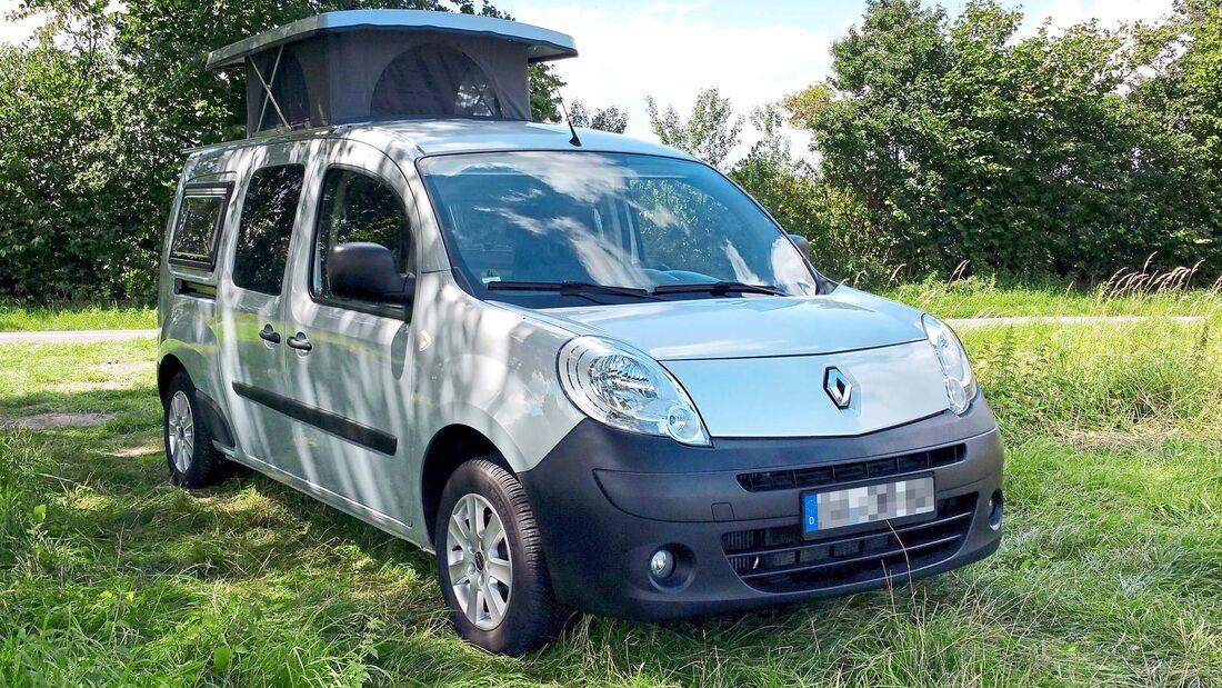 Selbstausbau Auf Renault Kangoo Maxi Kombi Als Wohnmobil Promobil
