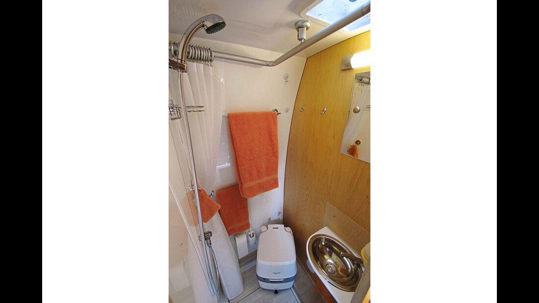 Lesermobil Toilette
